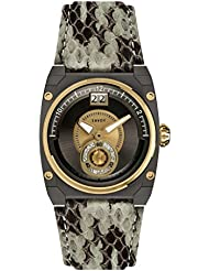 Savoy Swiss Made Icon Petite Gold Red Dial Female Watch -C730302DL3