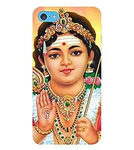 HiFi Designer Phone Back Case Cover Apple iPhone 6 Plus :: Apple iPhone 6+ ( Lord Murugan God )