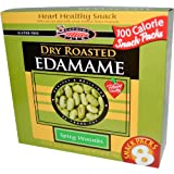 Seapoint Farms Dry Roasted Edamame Spicy Wasabi 8 Snack Packs (3 Boxes)