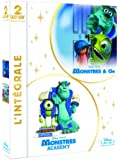 Monstres & Cie + Monstres Academy [Blu-ray]