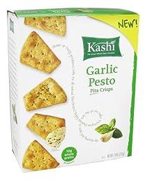 KASHI PITA CRSP GARLIC PESTO, 7.9 OZ