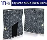 Taylorhe Skins Xbox Slim Decal/ checker plate