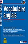 Bordas langues : Vocabulaire anglais par Bordas