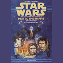 Star Wars: The Thrawn Trilogy, Book 1: Heir to the Empire (       ABRIDGED) by Timothy Zahn Narrated by Denis Lawson