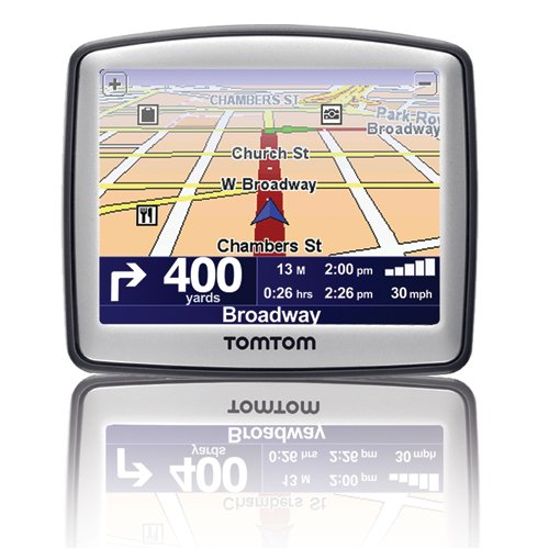 TomTom One 130S 3.5-Inch Portable GPS Navigator (Factory Refurbished)