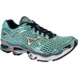 Mizuno Womens Wave Creation 13 Green Running Shoes US 7.5 NIB FBA