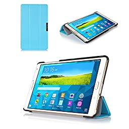 ProCase SlimSnug Case for Samsung Galaxy Tab S 8.4 (SM-T700), Ultra Slim and light, Hard Shell Cover, with Stand, Exclusive for 2014 Galaxy Tab S Tablet (Blue)