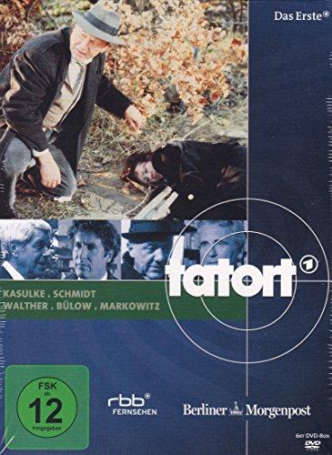 Tatort: Kasulke, Schmidt, Walther, Bülow, Markowitz [6 DVDs]