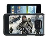 COVER FOR SAMSUNG S2 i9100 XBOX HALO GAMING PHONE CASE & SCREEN PROTECTOR - BK-T26