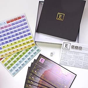 Elemensus 2012 - The unique word game based on the Periodic Table of Elements.