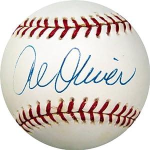 Al Oliver Autographed Serie De Los Expos De Montreal Baseball by Memorabilia