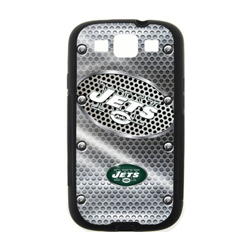 Metal NFL New York Jets Logo Laser Technology Custom Cover Case for SamSung Galaxy S3 I9300 at Amazon.com