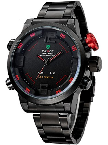alienwork-dualtime-led-analogue-digital-watch-xxl-oversized-wristwatch-multi-function-stainless-stee