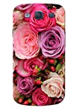 KanvasCases Printed Back Cover for Samsung Galaxy S3 + Free Earphone Cable Organizer