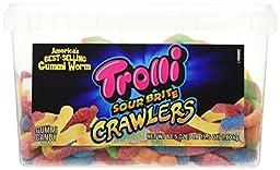 Trolli Sour Brite Crawlers, 63.5oz Tub