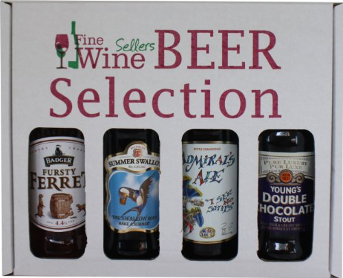 Fine Wine Sellers Mixed Gift Beer Pack 8 - 4 x 500ml