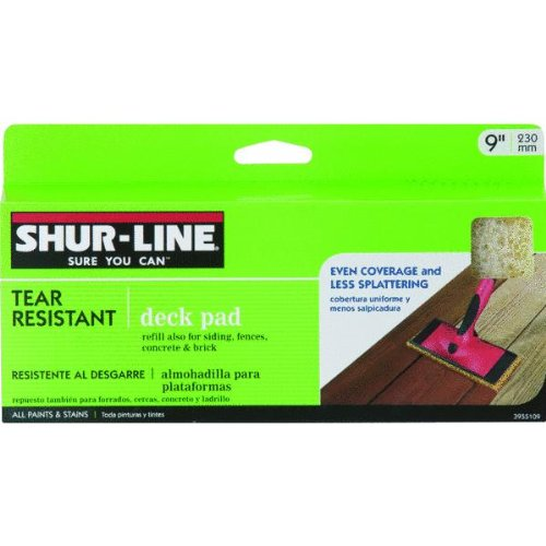 Shur-Line 3955109 9-Inch Tear Resistant Deck Pad Refill