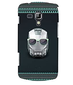 ColourCraft Skull Back Case Cover for SAMSUNG GALAXY S DUOS 2 S7582