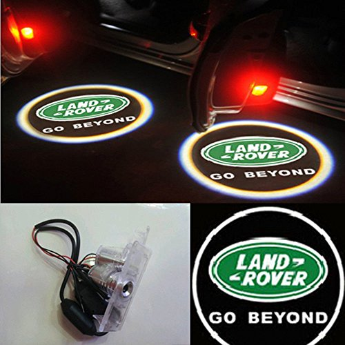 Moonet 2X Led Door Courtesy Shadow Ghost Lamp Projector Light For Land Rover Discovery 4 Freelander 2 Range Rover Sport With Logo Go Beyond