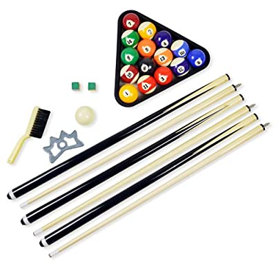 FamilyPoolFun Premium Billiard Accessory Kit