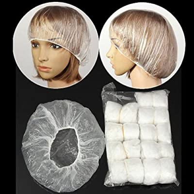 100 Pack-Disposable Shower Cap