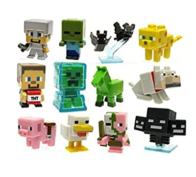 Minecraft Series 1 Collectible Figure Mystery Blind Box (Styles May Vary) by Mattel