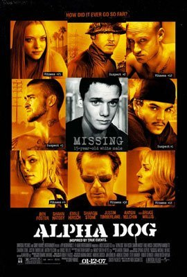 ALPHA DOG ORIGINAL MOVIE POSTER Double-sided Poster Print, 27x41