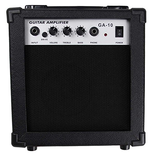 Gearlux 10 Watt Electric Guitar Combo Amp With Boost Switch And Headphone Out
