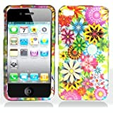 Premium - Apple iPhone 4 Spring Garden Cover - Faceplate - Case - Snap On - Perfect Fit Guaranteed