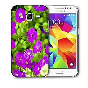 Snoogg Autumn Flower Printed Protective Phone Back Case Cover For Samsung Galaxy Core Plus G3500