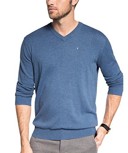 ESPRIT - Basic - Regular Fit 995EE2I902, Maglione da uomo, blu (marathon blue melange 494), L