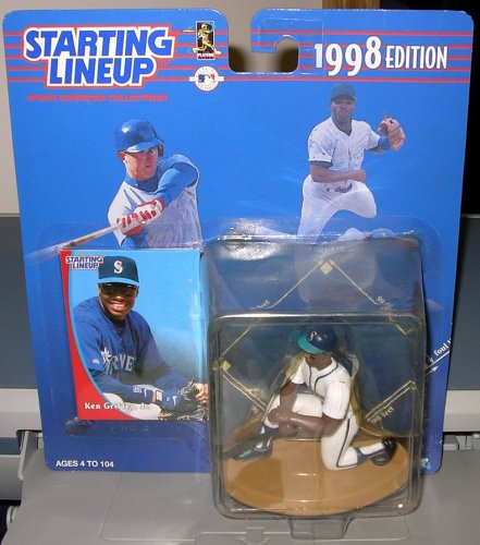 "STARTING LINEUP MLB ""KEN GRIFFEY JR."" 1998 by Kenner"