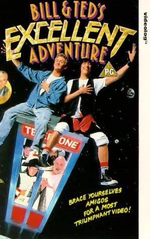 Bill & Ted's Excellent Adventure [VHS] [UK Import]