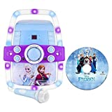Frozen Flashing Light-up Karaoke - Multicolor