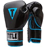 TITLE Classic Women S Pro Style Training Gloves Black/Blue Small