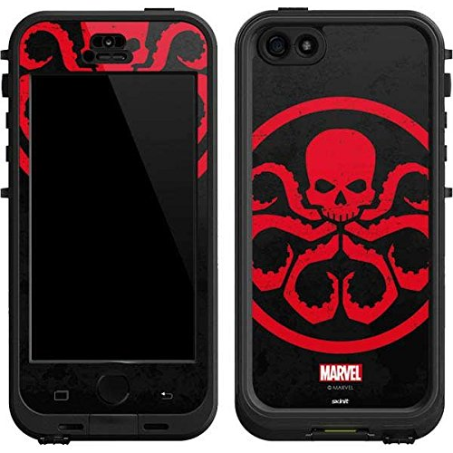 Marvel Avengers Lifeproof Nuud iPhone 5&5s Skin - Hydra Emblem Vinyl Decal Skin For Your Lifeproof Nuud iPhone 5&5s (Iphone 5 Marvel Decal compare prices)
