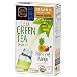 Organic Pineapple Mango Green Iced Tea Powder