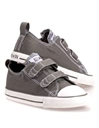 Converse Baby Boys' Chuck Taylor All Star 2V (Inf/Tod) Charcoal Infant