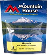 Mountain House Granola with Blueberries and Milk - 2 Servings