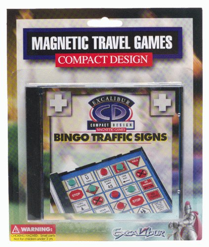 Bingo Traffic Signs (Magnetic Games) - 1