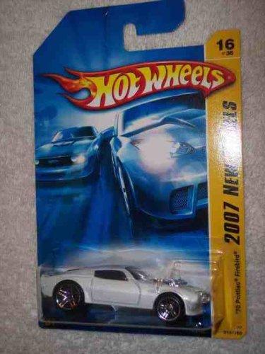 2007 New Models -#16 1970 Pontiac Firebird #2007-16 Collectible Collector Car Mattel Hot Wheels - 1