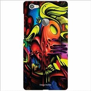 Design Worlds - Letv Le 1S Designer Back Cover Case - Multicolor Phone Cover
