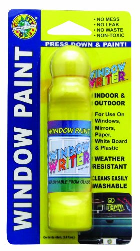 Crafty Dab Window Writer - Yellow