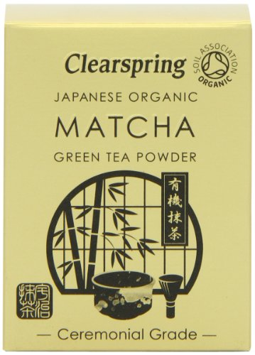 Clearspring Organic Japanese Matcha Green Tea Powder Ceremonial Grade 30 g