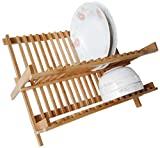 Happilar Bamboo Folding Dish Rack
