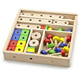 Viga Wooden Construction Set (53-Piece)