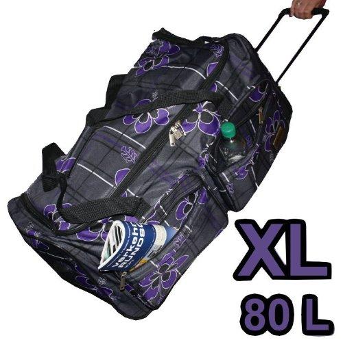 Leonardo XL Trolley 80L Reisetasche Sporttasche