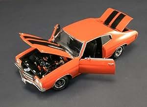 Amazon.com: 1970 Chevrolet Chevelle SS 454 LS6 Orange 1/18 by Acme