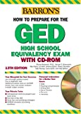 How to Prepare for the GED with CD-ROM (Barron's GED (W/CD)) (0764177117) by Rockowitz Ph.D., Murray