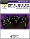 Sondheim Broadway Solos Trombone Book/CD Play-Along (Stephen Sondheim - Broadway Solos)